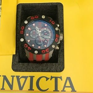 Limited Edition Jason Taylor Invicta watch